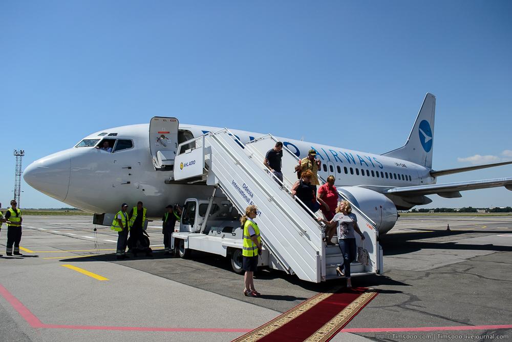 Новый авиарейс Киев-Одесса: всего за 499 грн!