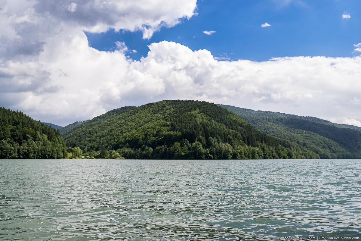 Удивительное Карпатское море. Теребле-Рицкое водохранилище