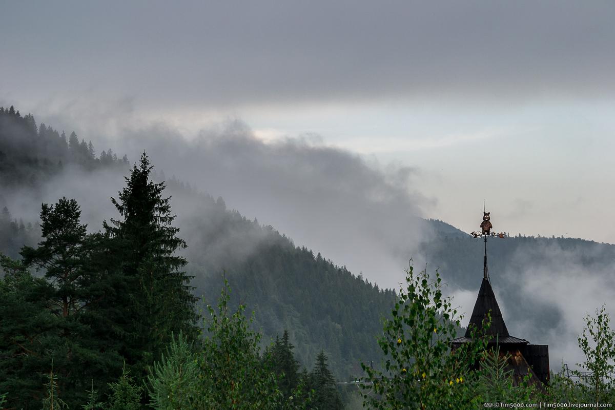 На автомобиле в Карпаты! Чем же могут удивить горы летом?